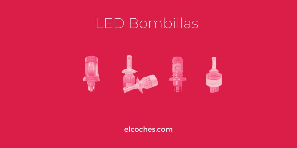Lámparas LED combinadas R2, HR2, H4, HS1, H13 y sus equivalentes halógenos con doble hélice